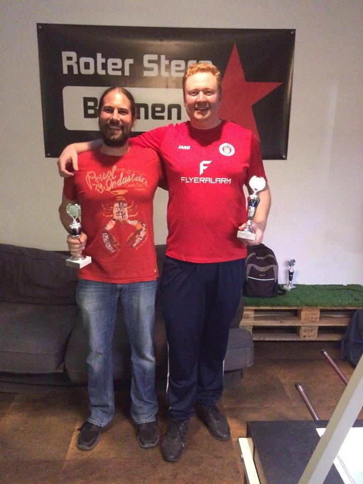 1. Platz Profidoppel 2. Challenger 2018